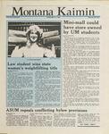 Montana Kaimin, March 8, 1988