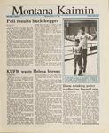 Montana Kaimin, March 9, 1988
