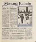 Montana Kaimin, March 11, 1988