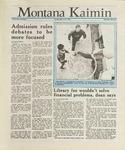 Montana Kaimin, March 29, 1988