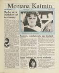 Montana Kaimin, March 30, 1988