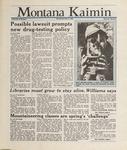 Montana Kaimin, April 6, 1988