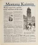 Montana Kaimin, April 7, 1988
