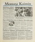 Montana Kaimin, April 15, 1988