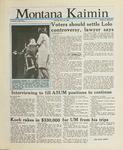 Montana Kaimin, April 19, 1988