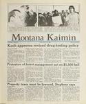 Montana Kaimin, April 26, 1988