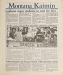 Montana Kaimin, May 5, 1988