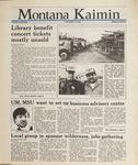 Montana Kaimin, May 17, 1988