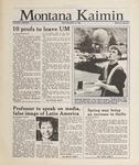 Montana Kaimin, May 18, 1988
