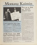 Montana Kaimin, May 19, 1988