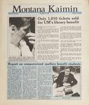 Montana Kaimin, May 20, 1988