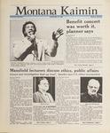 Montana Kaimin, May 24, 1988