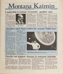 Montana Kaimin, May 25, 1988