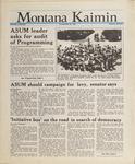 Montana Kaimin, May 26, 1988