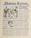 Montana Kaimin, May 27, 1988