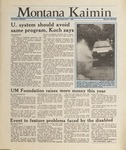 Montana Kaimin, June 1, 1988