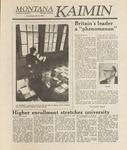 Montana Kaimin, September 23, 1988
