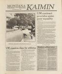 Montana Kaimin, September 27, 1988