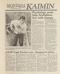 Montana Kaimin, September 29, 1988