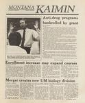 Montana Kaimin, September 30, 1988