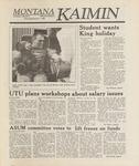 Montana Kaimin, October 5, 1988