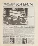 Montana Kaimin, October 12, 1988