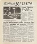 Montana Kaimin, October 13, 1988