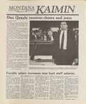 Montana Kaimin, October 14, 1988