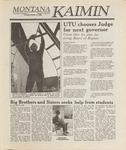 Montana Kaimin, October 18, 1988