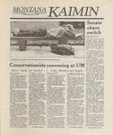 Montana Kaimin, October 20, 1988