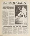 Montana Kaimin, October 26, 1988
