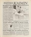 Montana Kaimin, October 27, 1988
