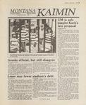 Montana Kaimin, November 1, 1988