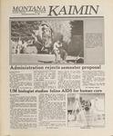 Montana Kaimin, November 2, 1988