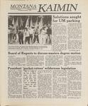 Montana Kaimin, November 3, 1988