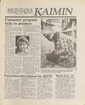 Montana Kaimin, November 4, 1988