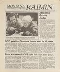 Montana Kaimin, November 9, 1988