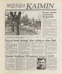 Montana Kaimin, November 10, 1988
