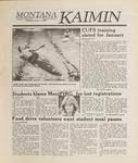 Montana Kaimin, November 14, 1988