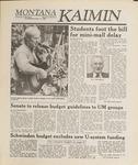 Montana Kaimin, November 17, 1988