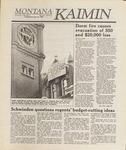 Montana Kaimin, November 22, 1988