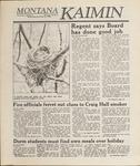 Montana Kaimin, November 23, 1988