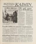 Montana Kaimin, December 2, 1988