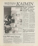 Montana Kaimin, January 5, 1989
