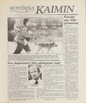 Montana Kaimin, January 6, 1989
