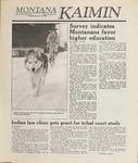 Montana Kaimin, January 10, 1989