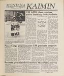 Montana Kaimin, January 11, 1989