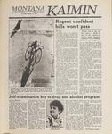 Montana Kaimin, January 12, 1989