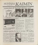 Montana Kaimin, January 17, 1989