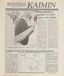 Montana Kaimin, January 18, 1989